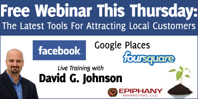 Free Webinar June 30th: The Latest Tools for Attracting Local Customers