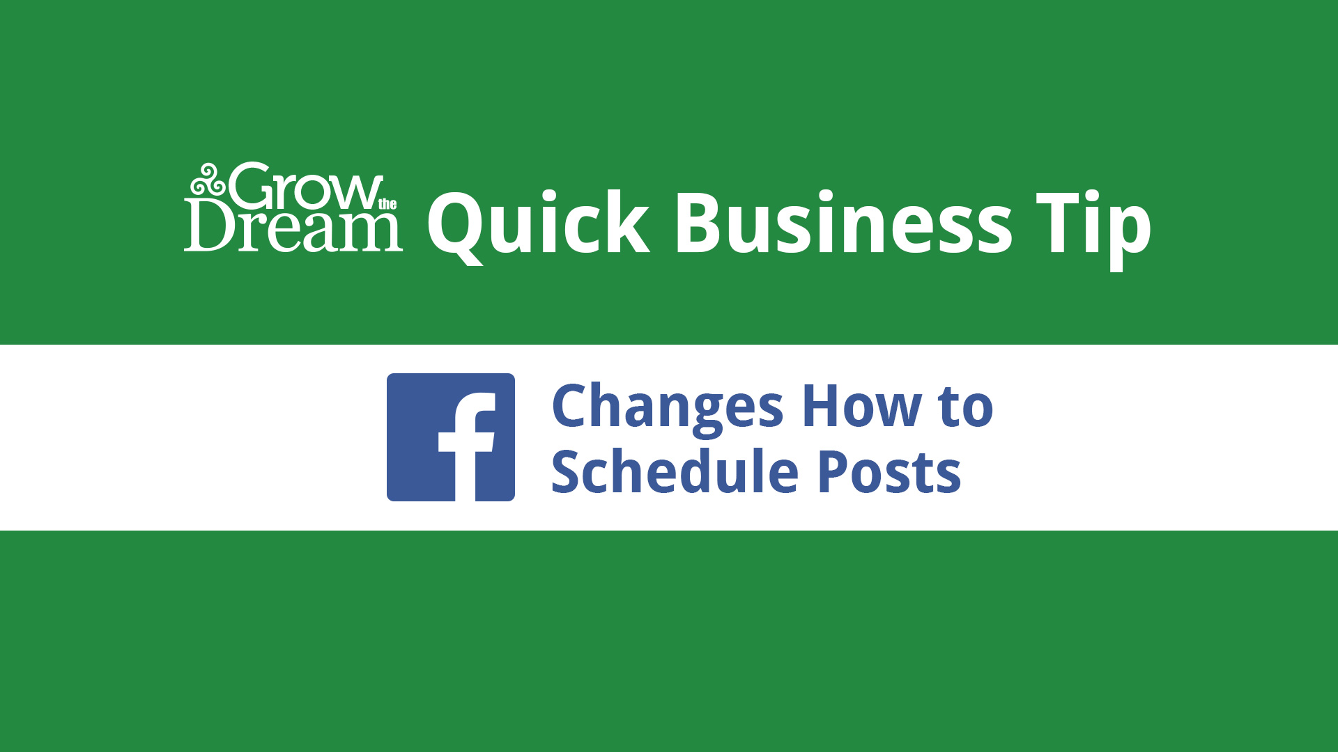 [Video] How to Schedule Posts on Your Facebook Page