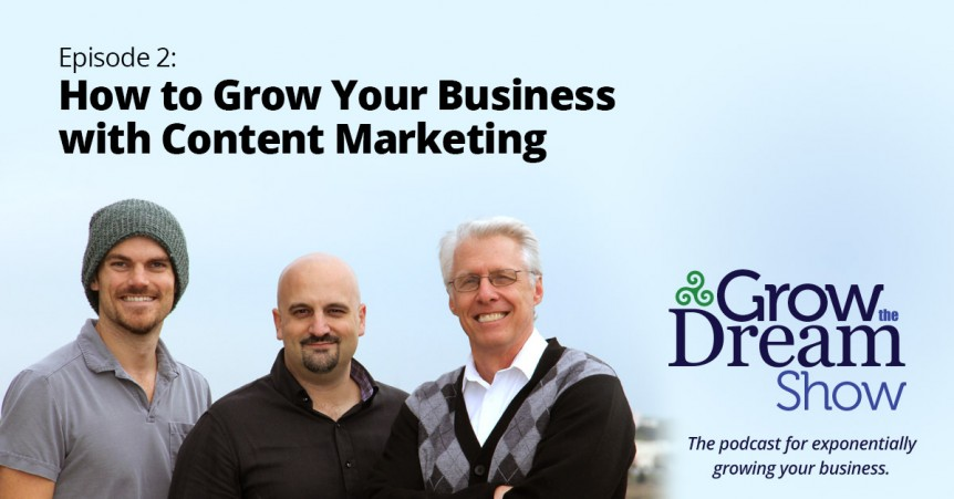 Grow The Dream Show 002: How to Grow Your Business with Content Marketing