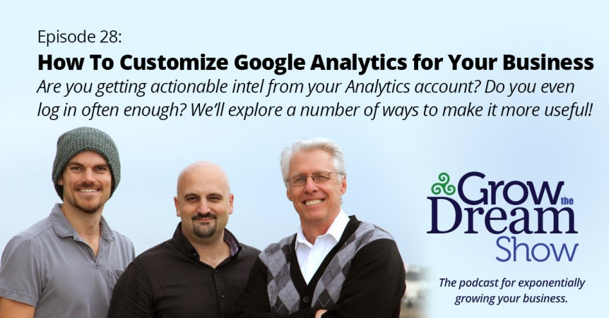 Episode 28: How to Customize Google Analytics for Your Business