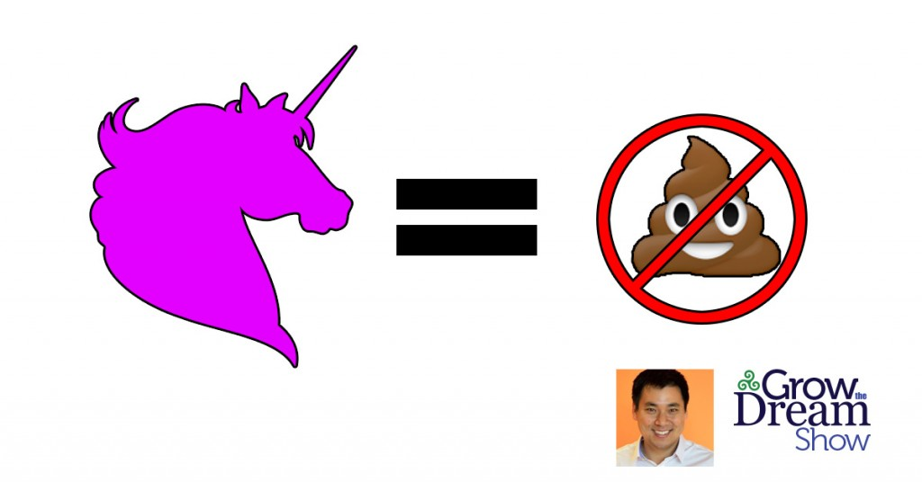 Unicorns Keep Crap Off the Wall: Larry Kim on the Grow The Dream Show