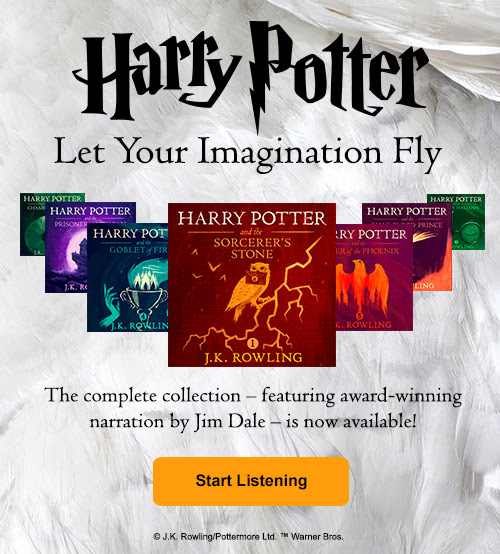 Audible Announces the Availability of the Harry Potter books