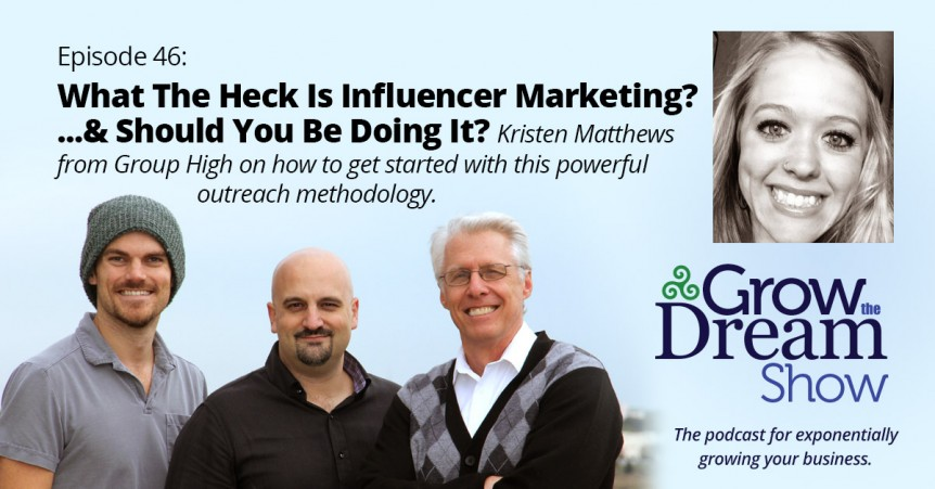 Episode 46: What the Heck is Influencer Marketing? ...and Should You Be Doing It?