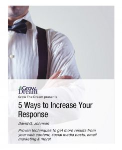 Cover: 5 Ways to Increase Your Response