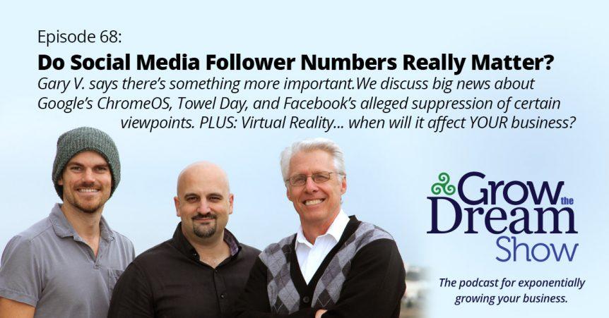 Episode 68: Do Social Media Follower Numbers Really Matter?