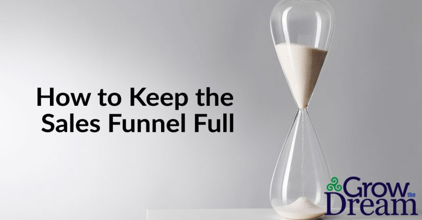 How to Keep Your Sales Funnel Full