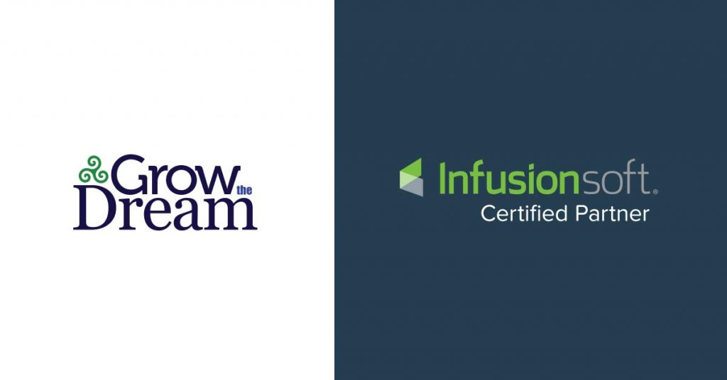Grow The Dream achieves new status as Infusionsoft Certified Partner