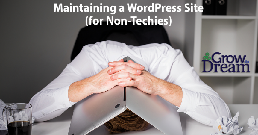 Maintaing a WordPress Site for Non-Techies