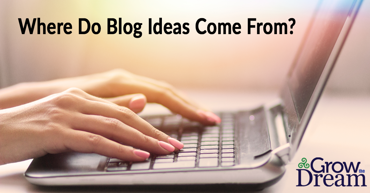 Where Do Blog Post Ideas Come From?