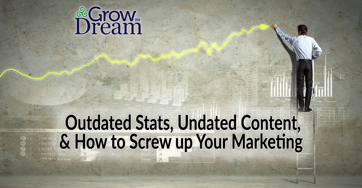 Outdated Stats, Undated Content, and How to Screw up Your Marketing