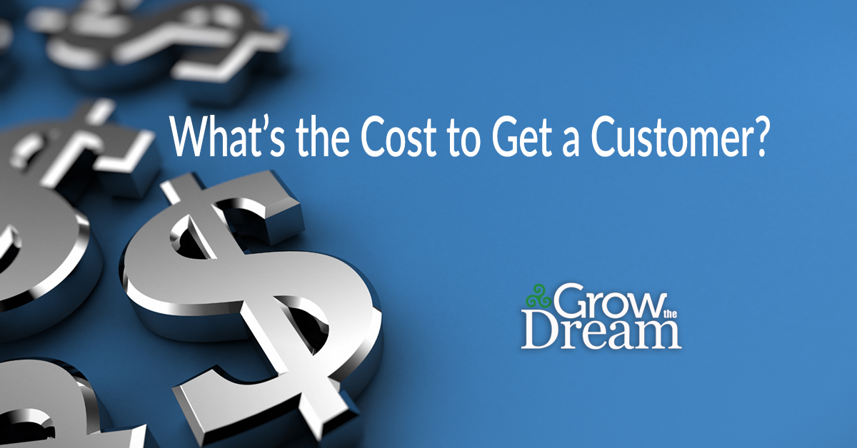 What's The Cost to Get a Customer?