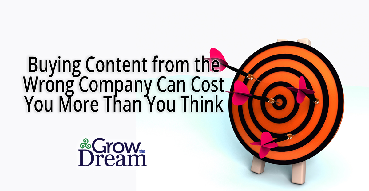 How Buying Content from the Wrong Company Can Cost You More Than You Think