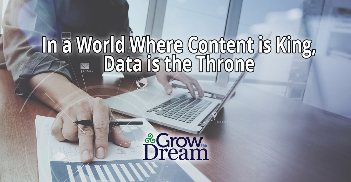 In a World Where Content is King, Data is the Throne