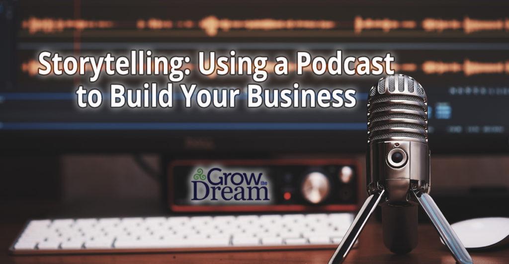 podcasts, storytelling